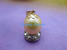 Gorgeous AAA+ 12.6*10.7mm natural south sea golden baroque pearl pendant 18k