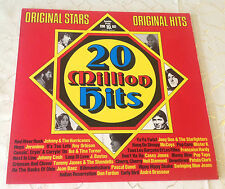 "VARIOUS (LP) ""20 MILLION HITS"" [BELLAPHON// IKE & TINA TURNER/J.CASH/ORBISON..]"
