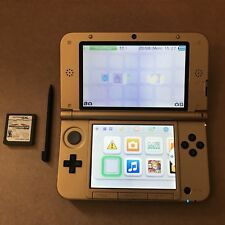 Nintendo 3DS XL Gold Console. The Legend of Zelda: Limited Edition. Used.