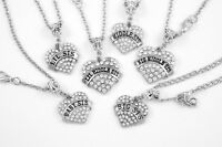 6 sisters Necklace set Huge sale diamond cut chain Sisters gift sis presents