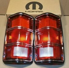NOS 1981-1993 Dodge 1st Gen Dodge Ram Cummins, Ramcharger OEM Tail lights, L&R