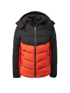 Tom Tailor Winterjacke , Steppjacke mit abnehmbarer Kapuze 1012104