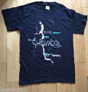 KYLIE MINOGUE SHOWGIRL HOMECOMING TOUR CONCERT AUSTRALIA & UK T SHIRT MEDIUM NEW