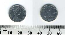 Canada 1968 - 10 Cents Silver Coin - Queen Elizabeth II - Bluenose sailing