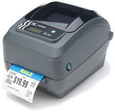NEW Zebra GX420T Thermal USB Ethernet LAN Serial Label Printer (GX42-102410-000)