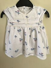 F&F Baby Girls Bird Dress Age Up To 3 Months
