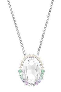 NWT Swarovski Calista Crystal Pendant Long Adjustable Necklace 5118133