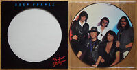 EX/EX! DEEP PURPLE PERFECT STRANGERS VINYL LP PICTURE PIC DISC