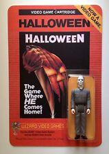 Custom made Michael Myers 3 3/4 Atari 2600 Halloween action figure MOC