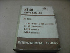 International truck Model L-190 - L-195 parts catalog MT-69