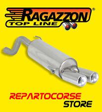 RAGAZZON TERMINALI SCARICO ROTONDI 2x80mm ALFA MITO 1.3 JTDm 50kW 70CV 2010-2013