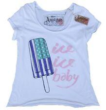 AMPLIFIED ICE ICE BABY ICECREAM Rock Star Vintage Süsses Designer T-Shirt S 38