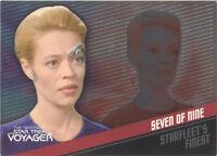 "Quotable Star Trek Voyager: F2 Jeri Ryan ""Seven of Nine"" Starfleet's Finest Card"