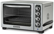 "KitchenAid Steel 12"" Convection Countertop Toaster Oven MODEL RR-KCO234CU"