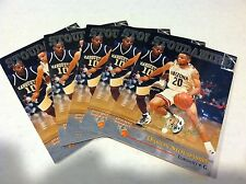DAMON STOUDAMIRE Score Board 17th National LOT OF 5 BASKETBALL RC Promo SP RARE