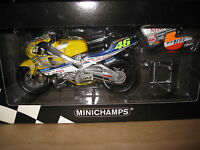 MINICHAMPS 1:12 HONDA NSR 500 TEAM NASTRO AZZURRO V ROSSI 46 MOTOR BIKE AWESOME