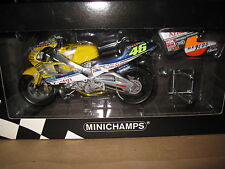 MINICHAMPS 1:12 HONDA NSR 500 TEAM NASTRO AZZURO V ROSSI 46  MOTOR BIKE AWESOME