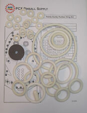 1966 Gottlieb Hurdy Gurdy Pinball Machine Rubber Ring Kit
