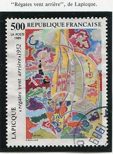 STAMP / TIMBRE FRANCE OBLITERE N° 2606 TABLEAU / LAPICQUE