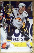 NATHAN PAETSCH - Buffalo Sabres 2009-2010 game poster #22 - NHL hockey 12-29-09