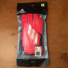 Adidas Men GK NMZ Training Goalkeeper Gloves Red Football Goalie DY2589 Size 7