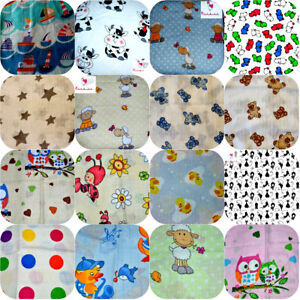 LARGE  colorful 70x80cm Muslin Squares 100% Cotton Cloths Baby Nappies