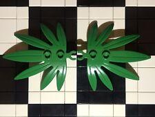Lego Green Leaves X2 / Large / Plants / Botanical / Landscape / Spare Parts