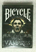 Bicycle VINTAGE VAMPIRES ~ LIMITED FOIL EDITION Playing Cards