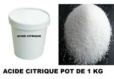 ACIDE CITRIQUE POT 1 kg