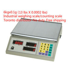 6kgx0.1g(13lbsx0.0002lbs) Industrial weighing scale/counting scale-Free shipping