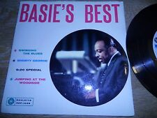 "COUNT BASIE ""BASIE´S BEST"" ROULETTE RECORDS NCB MADE IN SWEDEN 4 TRACKS EXTENDED"