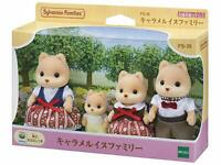 Sylvanian Families CARAMEL DOG FAMILY FS-35 Calico Epoch From Japan