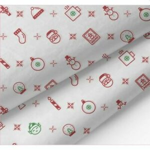Iconic Christmas Acid-Free Premium Christmas Tissue Paper [MF] 50cm x 70cm