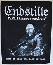 ENDSTILLE - Frühlingserwachen - 29,8 cm x 35,8 cm - Backpatch - 165105