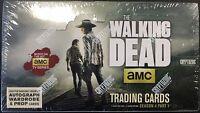The Walking Dead Season 4 Part 1 Trading cards SEALED Hobby Box Cryptozoic