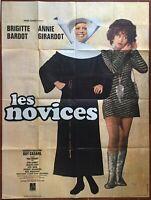 Plakat Les Fahranfänger Annie Girardot Brigitte Bardot Guy Casaril 120x160cm