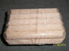 5 PAIRS OF BORDER SHOW CAGE PERCHES ,DEEP CUT.
