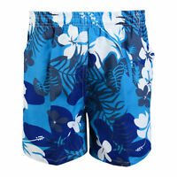 BOYS SUMMER SWIMMING SHORTS FLORAL BEACH SWIMWEAR MESH LINED 2-12 YEARS BNWT