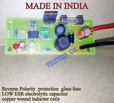 DIY  Lead Acid Battery Desulfator  12 Voltage + reverse pol protection