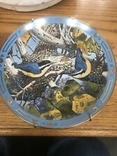 Danbury Mint Early Arrivals by Derk Hansen Winged Treasures Collector Plate 1991