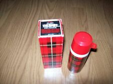 Vintage Avon Thermos Decanter Wild Country After Shave bottle and box