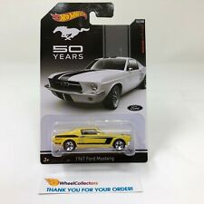 1967 Ford Mustang * Yellow * Hot Wheels Fifty Years Mustang * R23