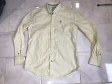 Men's Crew Clothing Co Quality Shirt Large Yellow 42""