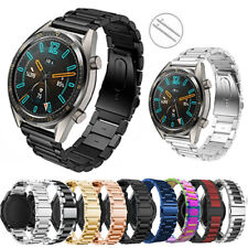 Stainless Steel Metal Wrist Band For Huawei Watch GT 2 46mm/2 Pro/Classic Strap