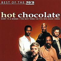 Hot Chocolate Best of the 70's (18 tracks) [CD]