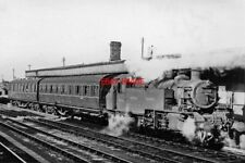 PHOTO  LMS IVATT 2MT 2-6-2T NO 41226  1951 DUDLEY RAILWAY STATION WITH THE AUTO-
