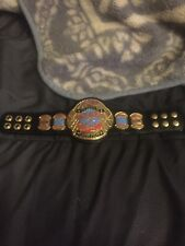 ecw mini title belt signed by 7 wrestlers