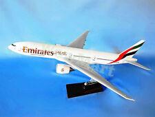 Gift EMIRATES 1:157 Fibreglass Resin Boeing 777-300 Aircraft Plane Model 48cm