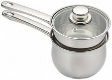 Porringer Bain Marie Double Boiler Kitchencraft Stainless Steel Steaming Pan