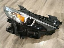 2019-21 OEM Mazda 3 RT LED headlight w/o adaptive, one broken tab pn:BCJH51030L